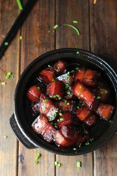 Hong Shao Rou—SuShi(Red braised pork belly)