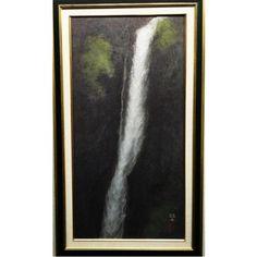 其阿弥赫土(ごあみかくど) 滝 日本画 30号 幻想の世界 商品詳細 油絵、絵画、版画、日本画、水彩画の販売ならギャラリーエコール