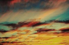 Colors, shades and shapes can always be found best in the sky.