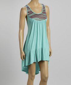 Love this Jade Amaya Hi-Low Dress by WOODLEIGH on #zulily! #zulilyfinds