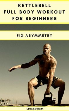 Kettlebell full body workout for beginners. Fix your asymmetries with unilateral exercises. Also, this is a great training to build muscle and lose weight. fitness tips ideas, fitness tips infographic, college fitness tips Planet Fitness Workout, Sport Fitness, Fitness Tips, Muscle Fitness, Fitness Men, Fitness Nutrition, Fitness Fashion, Full Body Workouts, Fun Workouts