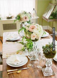 wedding table decor | VIA #WEDDINGPINS.NET