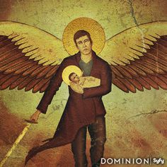 Talk of a Chosen One.  Find out more by visiting the #Dominion Tumblr to unlock more clues. http://dominionsyfy.tumblr.com/