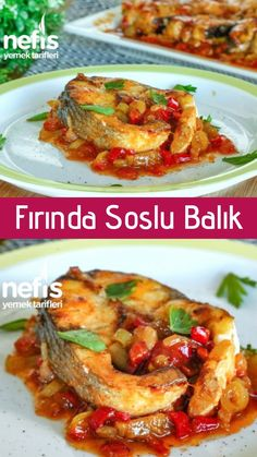 Baked Fish Recipe with Continuous Request (with video) - Yummy Recipes Informations About Sürekli İstek Alan Fırında Soslu Balık Tarifim (videolu) - Nefis Yemek Tarifleri Pin You can easily use my pro Crock Pot Recipes, Yummy Recipes, Stew Meat Recipes, Ground Meat Recipes, Meat Recipes For Dinner, Healthy Chicken Recipes, Fish Recipes, Yummy Food, Dinner Healthy