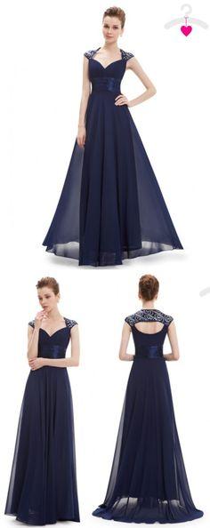 Vestidos de dama de honra azul marinho - Navy Blue Bridesmaid Dresses