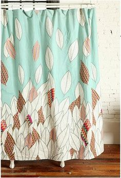 Graphic Shower Curtain Pretty Curtains Colorful Closet Window