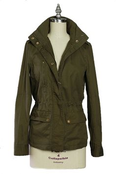 Incognito Military Utility Jacket - Olive RESTOCK ARRIVES SOON!   Daily Chic