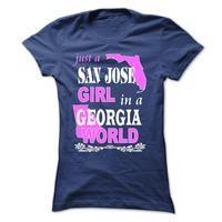 San Jose Girl in a GEORGIA World