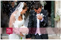 Romantic wedding in Salerno