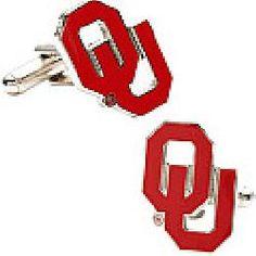 Cufflinks Inc. Oklahoma Sooners Sterling Silver Cufflinks