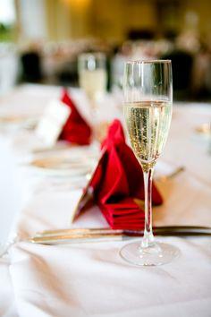 A glass of champagne to celebrate Wedding Table Setup, Wedding Ideas, 50th Birthday, Birthday Ideas, Champagne Breakfast, Glass Of Champagne, Cheers, Napkins, Weddings