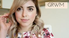 GRWM | Peachy Rose Gold Look. Simple and casual makeup look for everyday. Its a peachy rose gold color on the eyelid and the rest of the makeup is natural. Peachy pink blush and peachy pink lips. This is a GRWM chit chat style video.