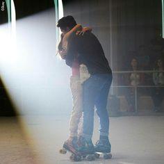 Esta foto toma la esencia de el esfuerzo que tenemos por los patines # todos a patinar