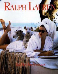 Ralph Lauren Ad Campaign Spring/Summer 1990 Shot #1