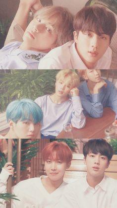 Una compilacion de fotos desde el Debut de BTS hasta hoy es tendencia en Corea ~ Viajando por el mundo POP - Espacio Kpop