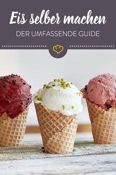 Cake Recipes Videos Vanilla - New ideas Ice Cream Parlor, Ice Cream Maker, Make Ice Cream, Homemade Ice Cream, Homemade Baby, Easy Cake Recipes, Baby Food Recipes, Frozen Yoghurt, New Cake