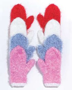 6 Free Knitting Patterns for Mittens   FaveCrafts.com