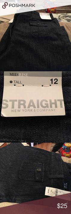 Jean Pants NY & CO Pants Straight Leg