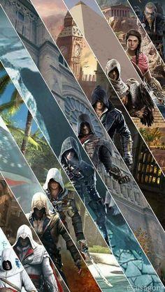 Assasin Creed Unity, Assassins Creed Funny, Assassins Creed Black Flag, Assassins Creed Series, All Assassins, Assessin Creed, All Assassin's Creed, Kratz Tattoo, Assasins Cred