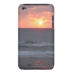 Sunrise on the Beach iPod Touch case
