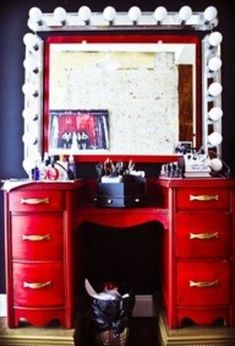 What does your vanity look like?