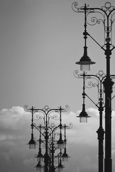 Some street lamps by Gabor Jonas on 500px