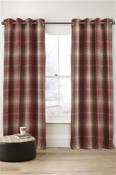Tartan Curtains from next