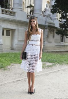 Bianca Brandolini at Couture Week in Paris