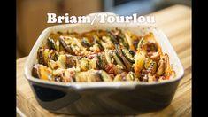 Briam/Tourlou - Tourlou Veg Recipes, Greek Recipes, Summer Recipes, Meatless Recipes, Baked Vegetables, Veggies, Ratatouille, Greek Dishes, Side Dishes