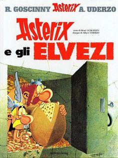 Asterix, chez le helvetes