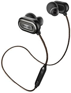 FOCUSPOWER T1000 Bluetooth Headphones V4.1 Wireless Sport Stereo Noise Cancelling In-Ear Sweatproof Earbuds Headsets with APT-X/Mic for IPhone 6s Plus Samsung Galaxy S7 and Android Phones (Gray)