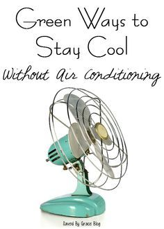 Green Ways To Stay Cool Without Air Conditioning  If The Heat Wave Has Hit  You