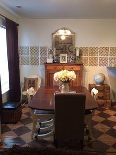 My dining room