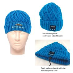 Customizable Bluetooth® Beanie Hat