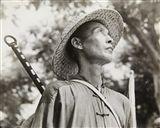 Robert Capa - Chinesischer Bauer/Chinese Peasant,...