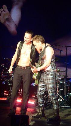 Dave Gahan, Martin Gore, Depeche Mode, Gahore