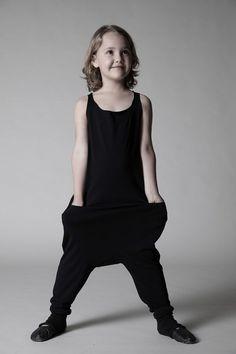 Black and cool kids style | Nununu SS15