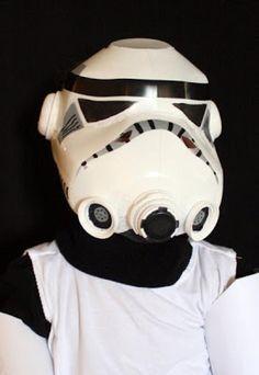Comment bricoler un casque de Stormtrooper! Soldat Clone. À partir de bouteilles de lait! - Bricolages - Trucs et Bricolages