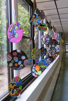 International Dot Day, Cassie Stephens, Ecole Art, School Art Projects, Diy Projects, Circle Art, Collaborative Art, Middle School Art, Reggio Emilia