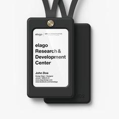 elago ID2 ID Card Holder - Black