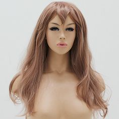 Private Miku wig nose  Costume cosplay wig shop signage curling wave  ₩ 45,000