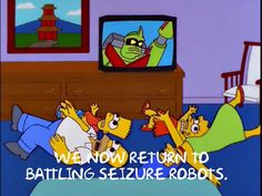 We now return to Battling Seizure Robots.