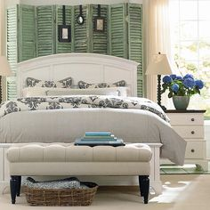 Aspen Grove Arched Panel Bed    $619