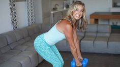 Sexy Arm Workout Part 1: 3 Minutes to Trimmer Arms - Denise Austin Arm Workout Challenge, 10 Min Workout, Triceps Workout, Toning Workouts, Easy Workouts, Workout Videos, Upper Back Exercises, Arm Exercises, Arm Flab