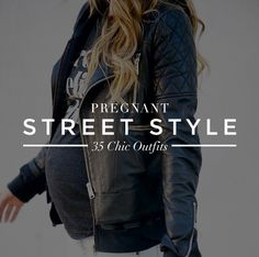 Are these preggos for real?! #madrespect >>> Pregnant Street Style: 35 Cool Outfits to Rock WhileExpecting   StyleCaster
