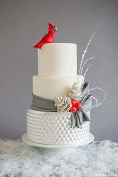 Silver Leaf Cakes - Jessica Harris Cake Design