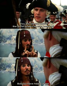 I would say best pirate ever