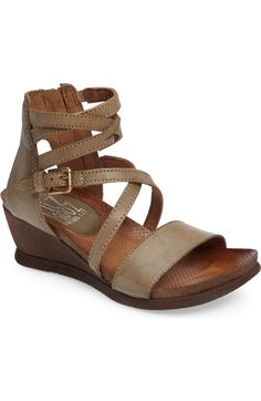 d103af80623 Main Image - Miz Mooz  Shay  Wedge Sandal (Women) Flat Sandals