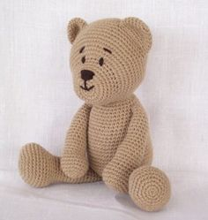 How to Crochet Amigurumi Teddy Bear