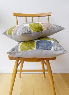 Spring cushions by Roddy & Ginger